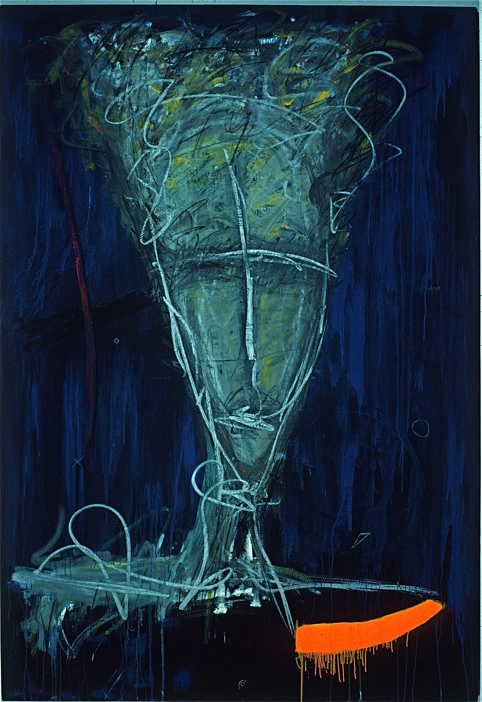 66w x 96h Acrylic on Canvas © Art Spellings 1985