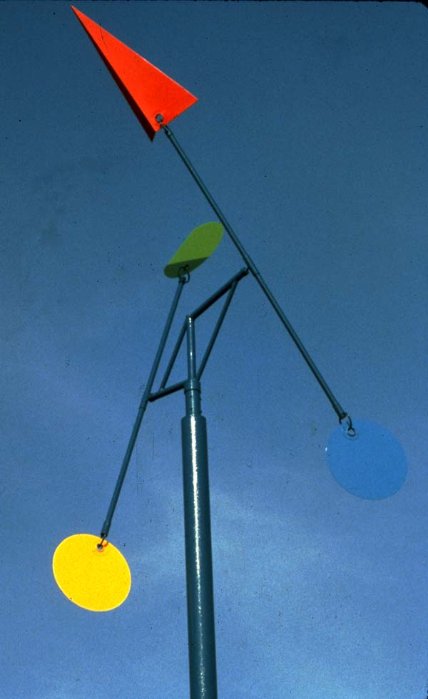 36w x 16h Steel, Aluminum, and Polychrome Paint   © Art Spellings 1981